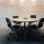 Corporate feature wall design 414